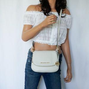 Michael Kors Bedford Small Flap Xbody Bag Vanilla